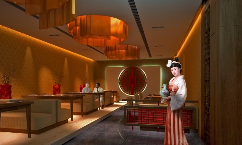 Restaurant Kinija interior