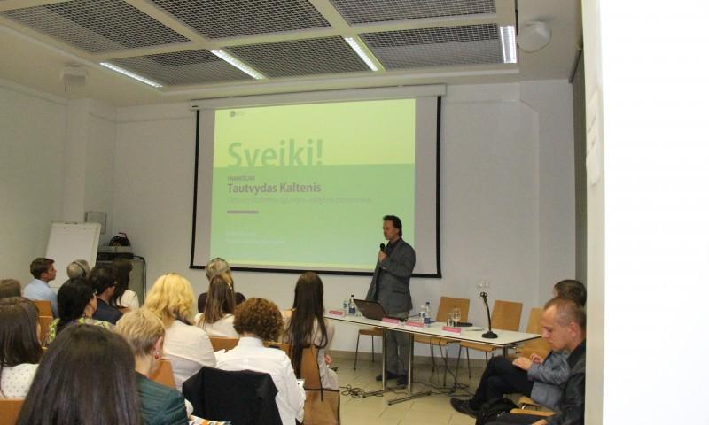 """Konferencija """"Dizainas inovatyvaus verslo pradžiai"""""""
