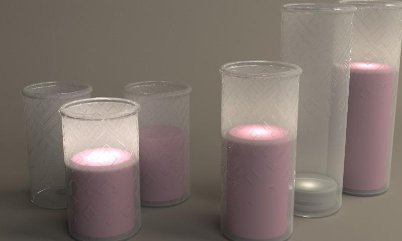 Candlesticks for Geralda