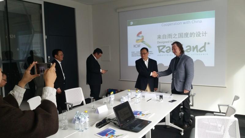 ICIF (Kinija) delegacijos vizitas Vilniuje