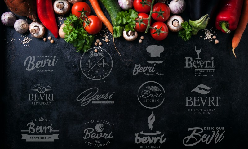 Logo Proposals for BEVRI Restaurant
