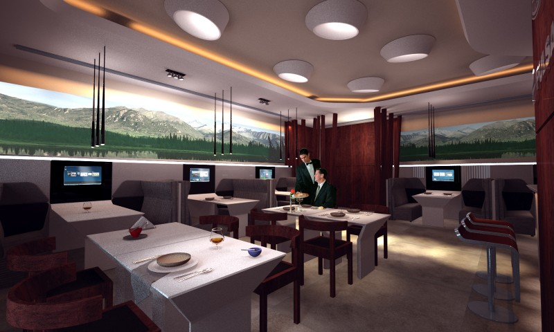 Corporate Club-Cafe Interior