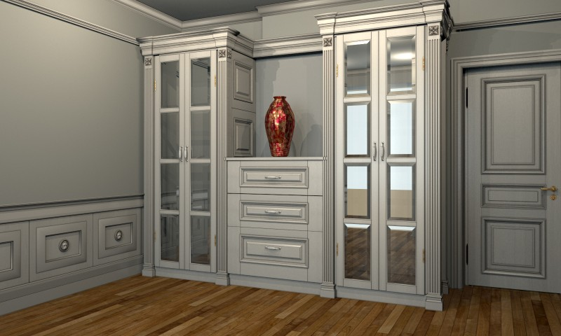 Wooden Furniture for Private Apartments. London